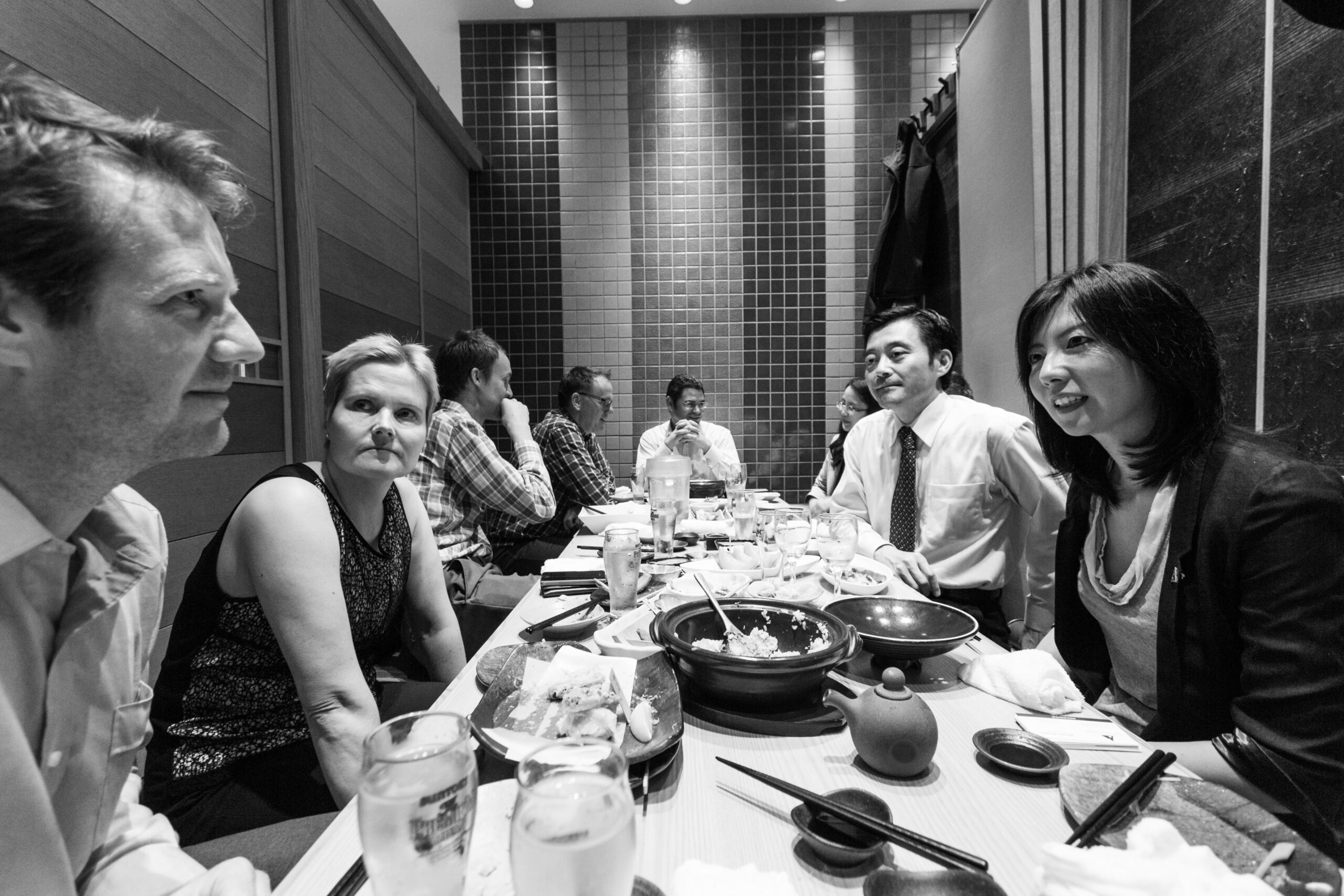 Japanese Business Etiquette Training Dining